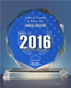 Yurman Best Financial Planner for Doctors in Cleveland 2016